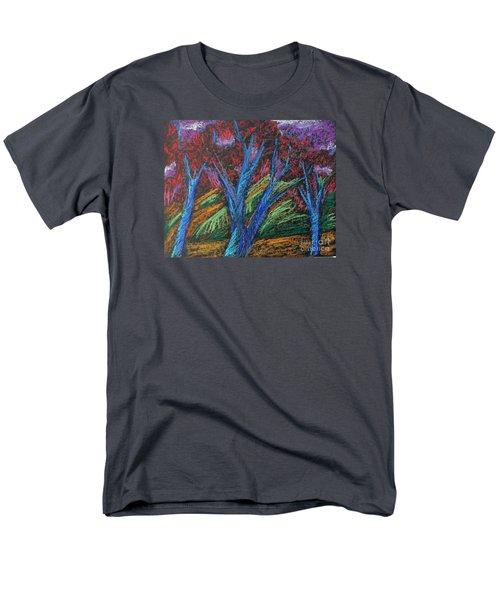 Central Park Blue Tempo Men's T-Shirt  (Regular Fit) by Elizabeth Fontaine-Barr