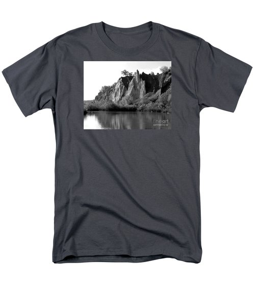Bluffers Park Toronto Canada Men's T-Shirt  (Regular Fit) by Susan  Dimitrakopoulos