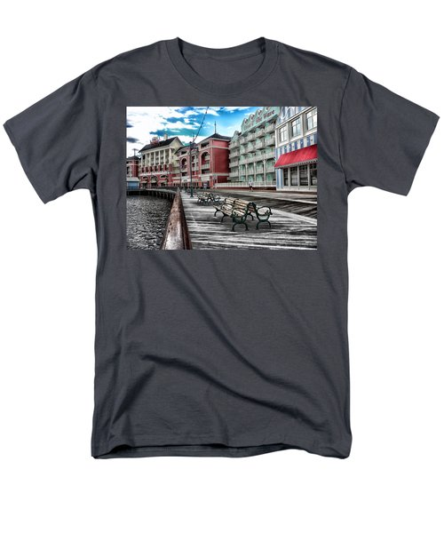 Boardwalk Early Morning Men's T-Shirt  (Regular Fit) by Thomas Woolworth