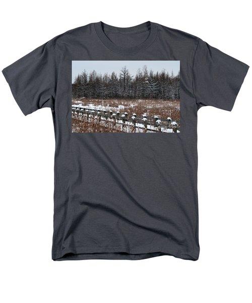 Men's T-Shirt  (Regular Fit) featuring the photograph Boardwalk Series No1 by Bianca Nadeau