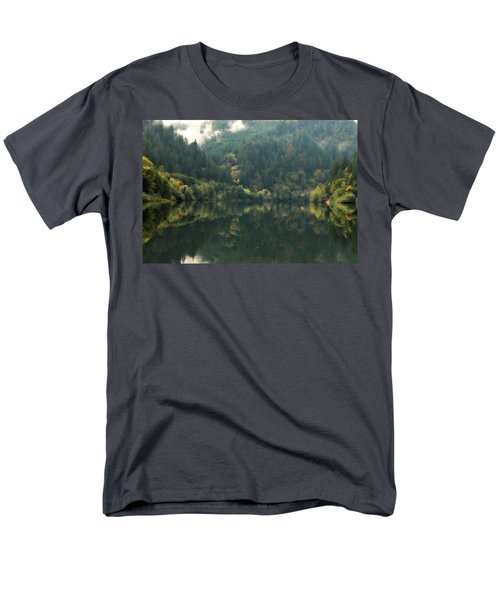 Men's T-Shirt  (Regular Fit) featuring the photograph Boathouse by Katie Wing Vigil