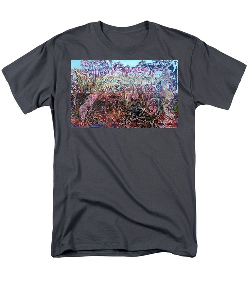 Men's T-Shirt  (Regular Fit) featuring the painting Bogomils Vegetable Garden  by Otto Rapp