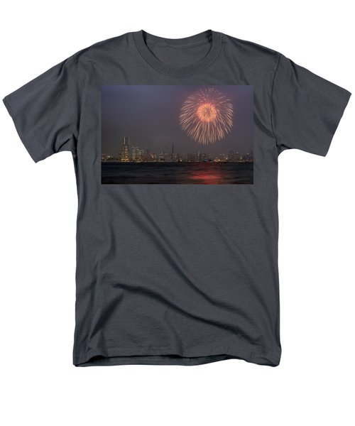 Men's T-Shirt  (Regular Fit) featuring the photograph Boom In The Sky by John Swartz