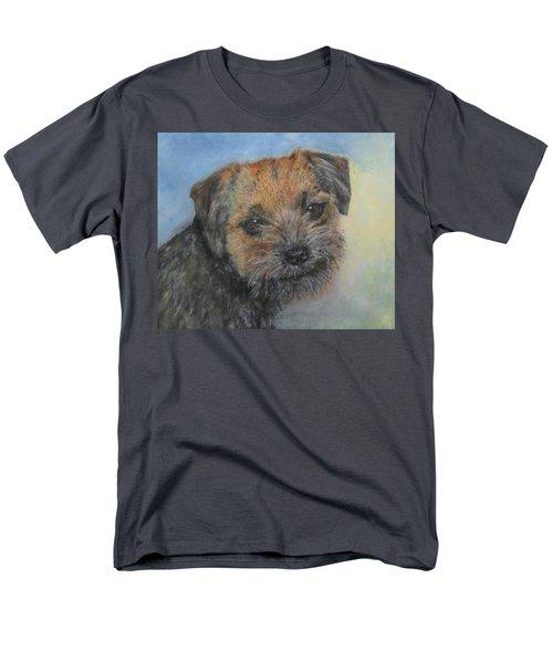 Border Terrier Jack Men's T-Shirt  (Regular Fit) by Richard James Digance