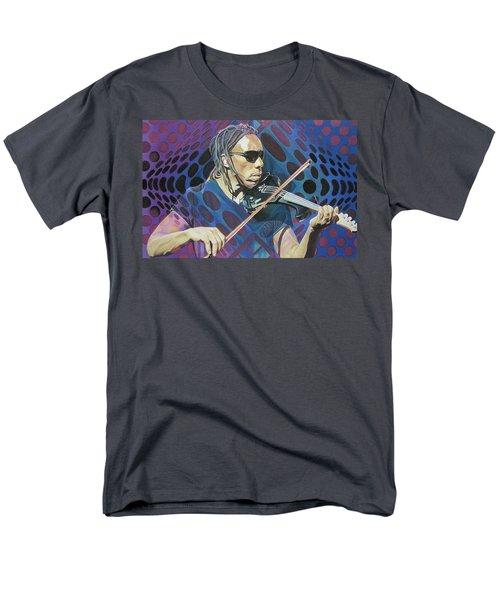 Boyd Tinsley Pop-op Series Men's T-Shirt  (Regular Fit) by Joshua Morton
