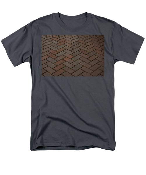 Brick Pattern Men's T-Shirt  (Regular Fit) by Tikvah's Hope