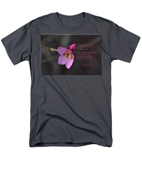 Men's T-Shirt  (Regular Fit) featuring the photograph Brotherly Love by Larry Bishop