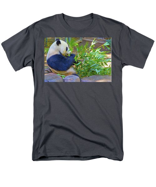 Men's T-Shirt  (Regular Fit) featuring the photograph Brunch On The Patio by Gary Holmes