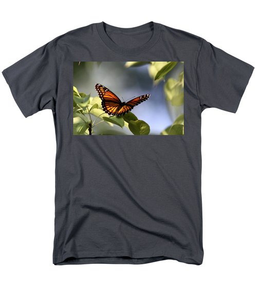 Butterfly -  Soaking Up The Sun Men's T-Shirt  (Regular Fit) by Travis Truelove