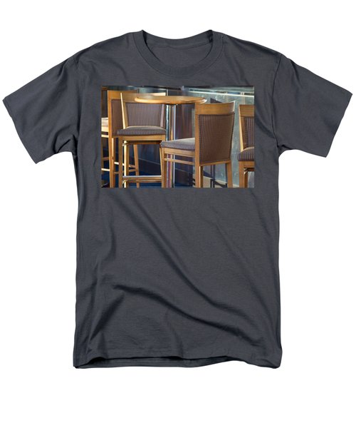 Men's T-Shirt  (Regular Fit) featuring the photograph Cafe by Patricia Babbitt