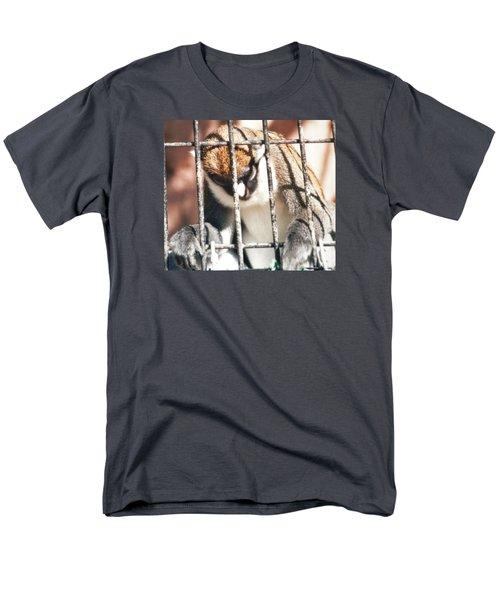 Caged But Strong Men's T-Shirt  (Regular Fit) by Belinda Lee