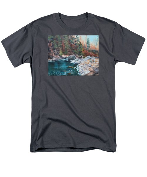 Calling Me Home Men's T-Shirt  (Regular Fit) by Patricia Olson