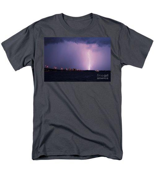 Caloosahatchee River Men's T-Shirt  (Regular Fit) by Quinn Sedam