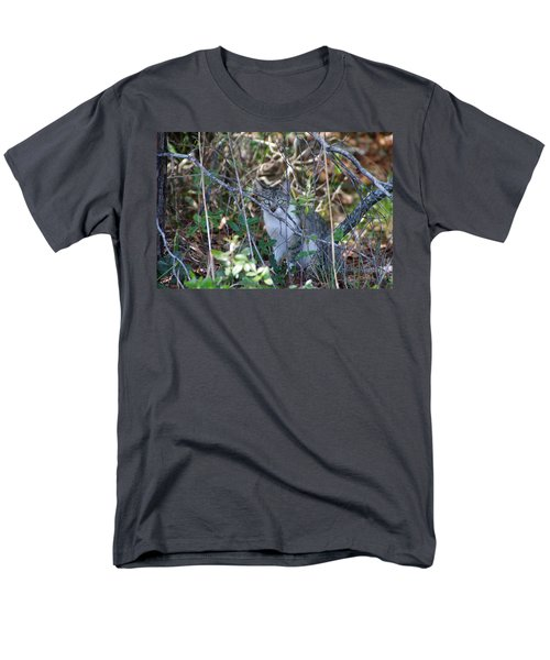 Camouflage Cat Men's T-Shirt  (Regular Fit) by Greg Graham