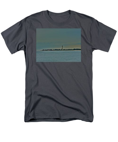 Cape May Point Men's T-Shirt  (Regular Fit) by Ed Sweeney