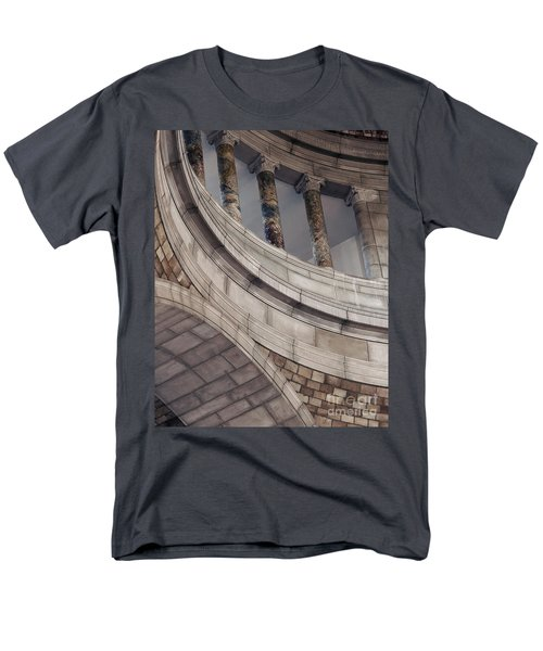 Capitol Curves Men's T-Shirt  (Regular Fit) by Art Whitton