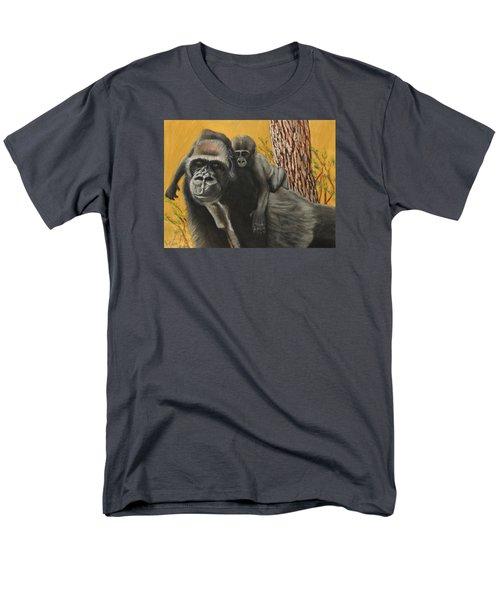 Men's T-Shirt  (Regular Fit) featuring the painting Captured Bernigie by Jeanne Fischer
