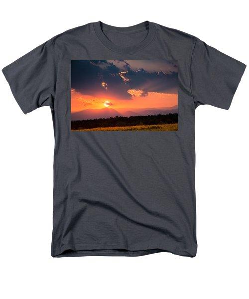 Carpathian Sunset Men's T-Shirt  (Regular Fit) by Mihai Andritoiu