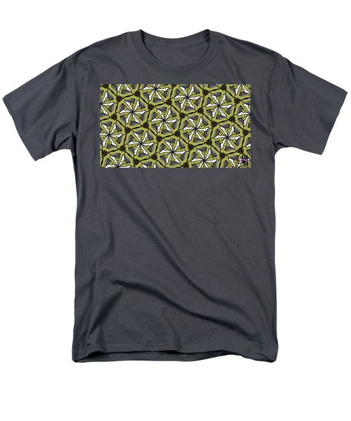 Men's T-Shirt  (Regular Fit) featuring the photograph Cat /shoe /rose #2 by Elizabeth McTaggart
