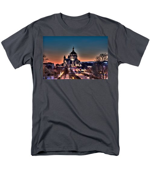 Cathedral Of Saint Paul Men's T-Shirt  (Regular Fit) by Amanda Stadther