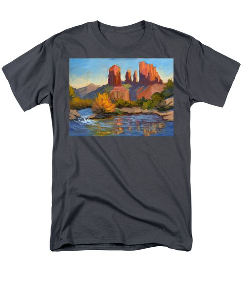 Cathedral Rock 2 Men's T-Shirt  (Regular Fit) by Diane McClary
