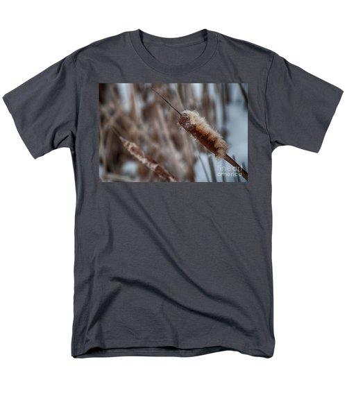 Men's T-Shirt  (Regular Fit) featuring the photograph Cattails by Bianca Nadeau