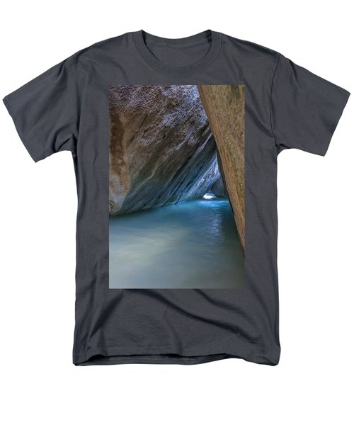 Cave At The Baths Men's T-Shirt  (Regular Fit) by Adam Romanowicz