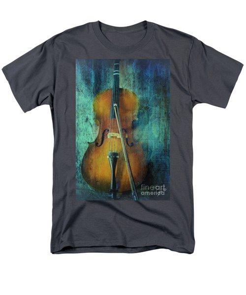 Cello  Men's T-Shirt  (Regular Fit) by Erika Weber