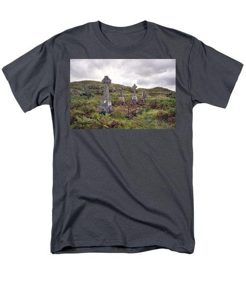 Men's T-Shirt  (Regular Fit) featuring the photograph Celtic Cemetary by Hugh Smith