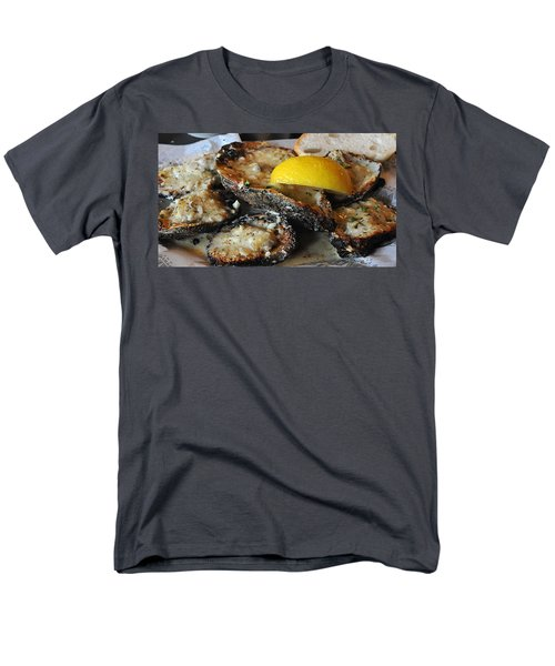 Chargrilled Oysters Men's T-Shirt  (Regular Fit) by Steve Archbold