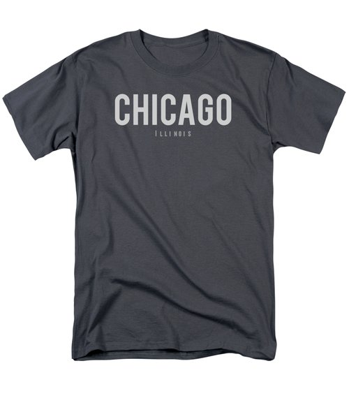 Chicago, Illinois Men's T-Shirt  (Regular Fit) by Design Ideas