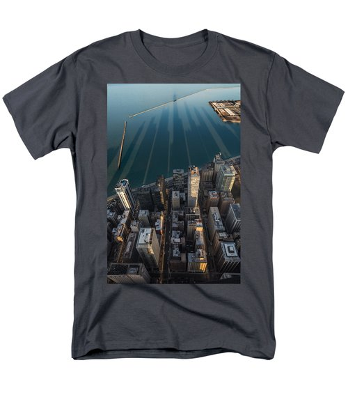 Chicago Shadows Men's T-Shirt  (Regular Fit) by Steve Gadomski