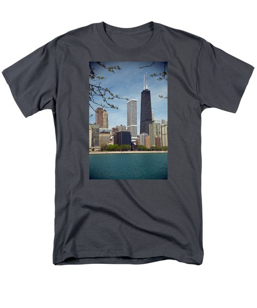 Chicago Spring Men's T-Shirt  (Regular Fit) by Lawrence Boothby