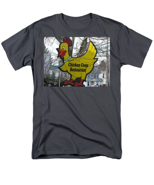 Chicken Coop Men's T-Shirt  (Regular Fit) by Michael Krek