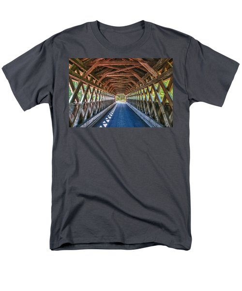 Chiselville Bridge Men's T-Shirt  (Regular Fit) by Guy Whiteley