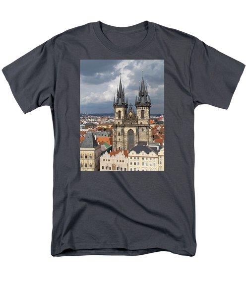 Church Of Our Lady Before Tyn - Prague Men's T-Shirt  (Regular Fit)