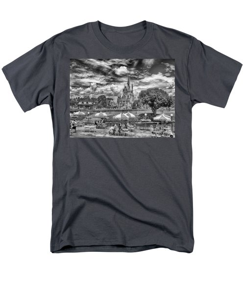Men's T-Shirt  (Regular Fit) featuring the photograph Cinderella's Palace by Howard Salmon
