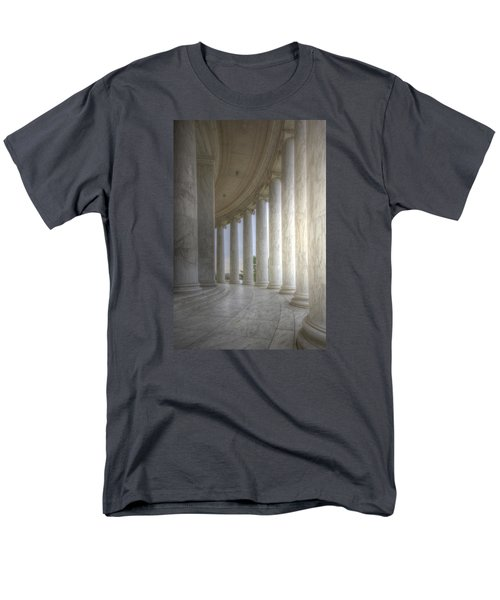 Circular Colonnade Of The Thomas Jefferson Memorial Men's T-Shirt  (Regular Fit) by Shelley Neff