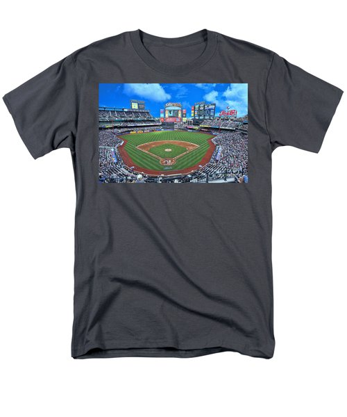 Citi Field Men's T-Shirt  (Regular Fit) by Allen Beatty