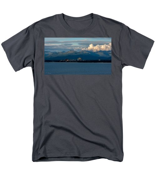City Of Anchorage  Men's T-Shirt  (Regular Fit) by Andrew Matwijec