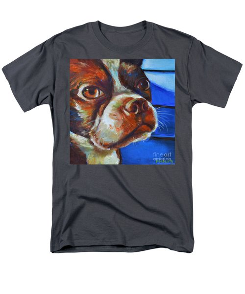 Men's T-Shirt  (Regular Fit) featuring the painting Classy Hank by Robert Phelps