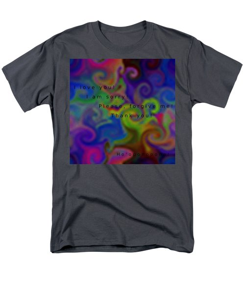 Cleansing Prayer Men's T-Shirt  (Regular Fit) by Manuela Constantin