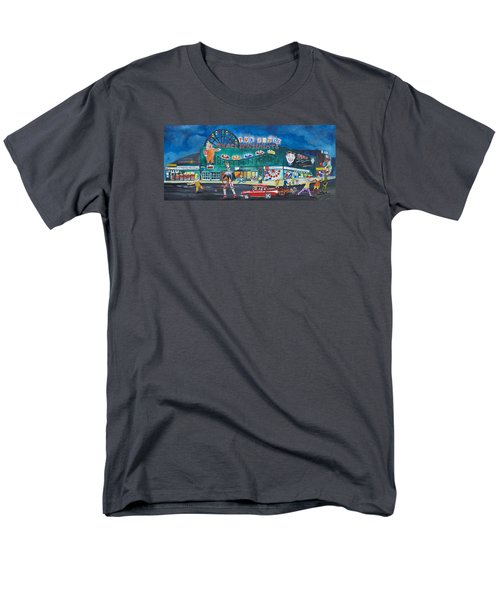 Men's T-Shirt  (Regular Fit) featuring the painting Clown Parade At The Palace by Patricia Arroyo