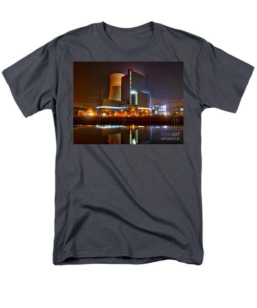 Coal Fired Powerhouse Men's T-Shirt  (Regular Fit) by Daniel Heine