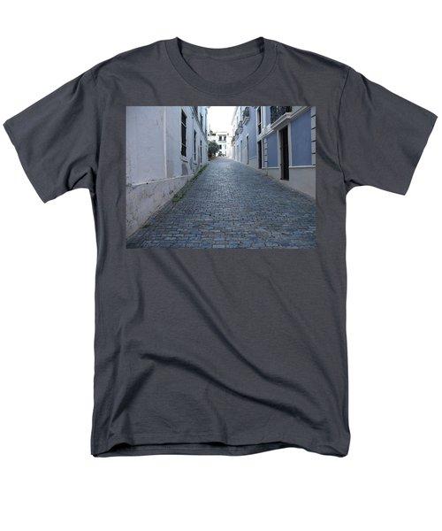 Men's T-Shirt  (Regular Fit) featuring the photograph Cobble Street by David S Reynolds