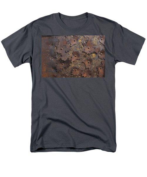 Color Of Steel 2 Men's T-Shirt  (Regular Fit) by Fran Riley
