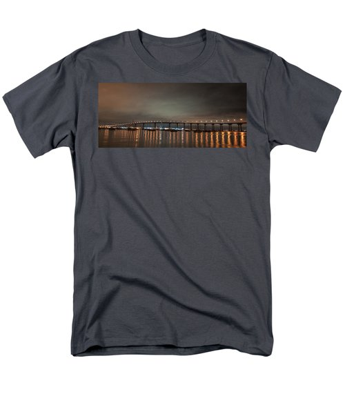 Coronado Bridge San Diego Men's T-Shirt  (Regular Fit) by Gandz Photography