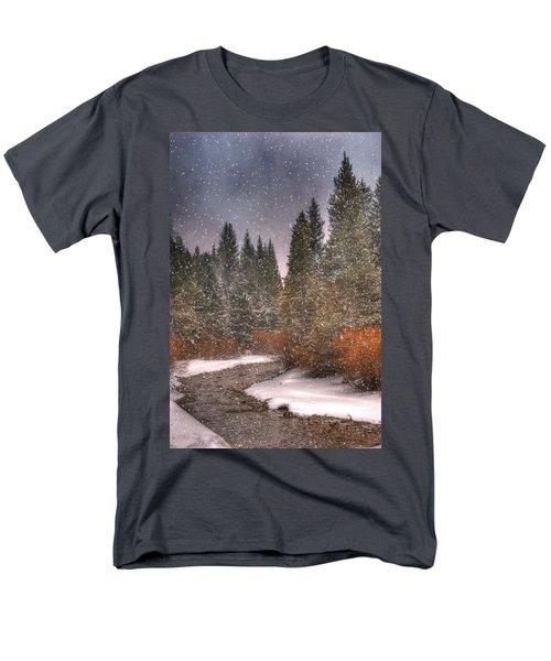 Colours Of Winter Men's T-Shirt  (Regular Fit) by Juli Scalzi