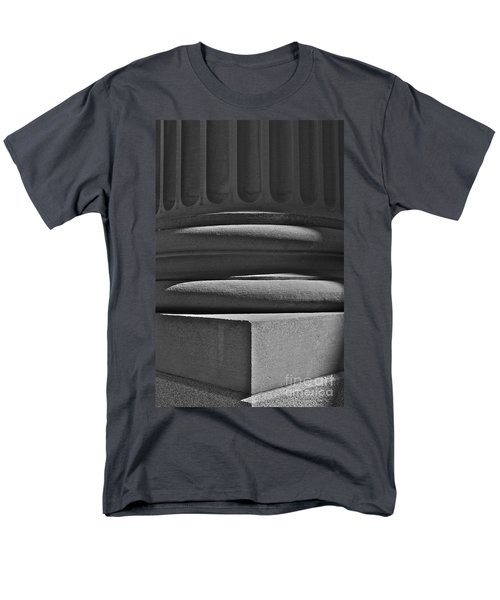 Men's T-Shirt  (Regular Fit) featuring the photograph Column 1 by Linda Bianic