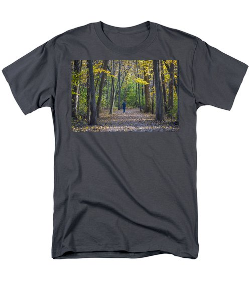 Men's T-Shirt  (Regular Fit) featuring the photograph Come For A Walk by Sebastian Musial